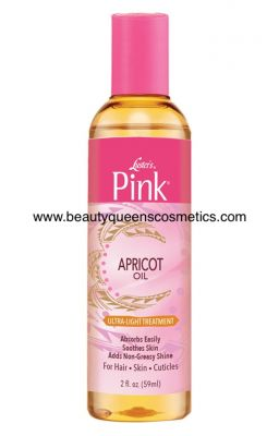 Luster's pink apricot oil...
