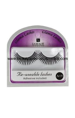 EyeLashes Re useable with...