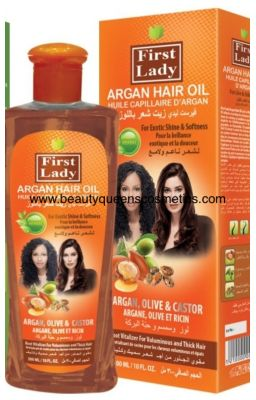 First Lady Argan Hair Oil...