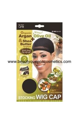 Qfitt Stocking Wig Cap -...