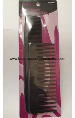 "Stylo 6"" Fluff Comb With 9""..."