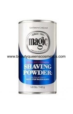 MAGIC  SHAVING POWDER...