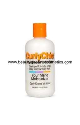 CURLY CHIC YOUR MANE...