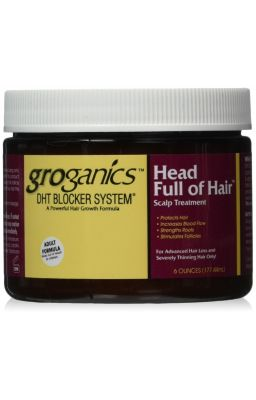 GROGANICS HEAD FULL OF HAIR...