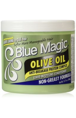BLUE MAGIC OLIVE OIL...