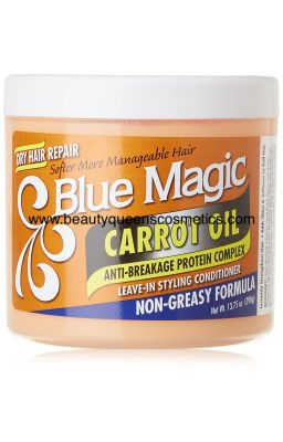 BLUE MAGIC CARROT OIL LEAVE...