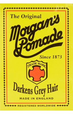 MORGAN'S POMADE DARKENS...