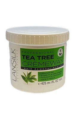 LANSILK TEA TREE CREME WAX...