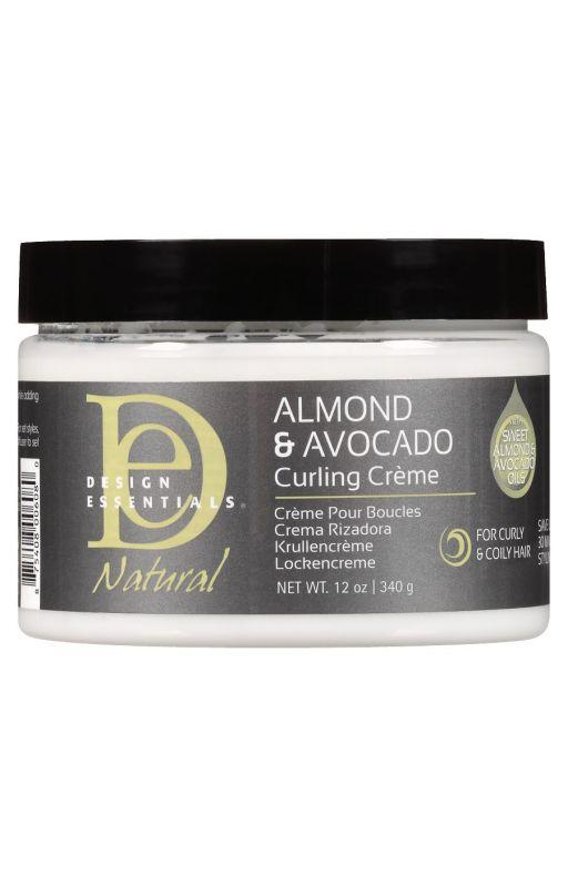 Design Essentials Almond Avocado Curling Creme 12oz340g