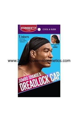 RED by KISS DREADLOCK CAP...