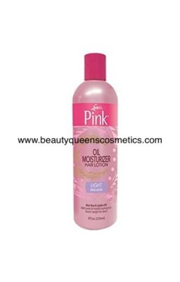 Luster's pink oil...