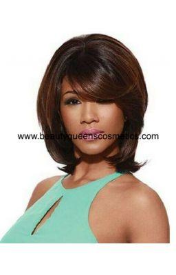 Sleek Synthetic Wig-Amelie