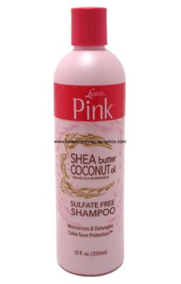 Luster's pink shea butter...